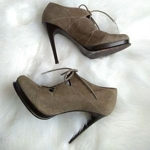 Diane Von Furstenberg Shoes - Diane Von Furstenberg suede Guardian heels sz 9m